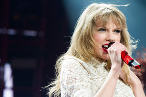 Taylor Swift is notorious for writing songs about her ex-boyfriends.Photo / AP