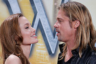Angelina Jolie, left, and Brad Pitt have reportedly set a date for their wedding. Photo / AP
