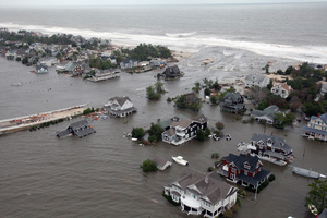 Superstorm Sandy which devastated parts of New York last October and was the second costliest in United States history. Photo / AP