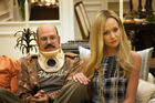 David Cross, left, and Portia de Rossi in a scene from