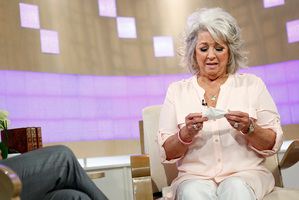 Celebrity chef Paula Deen broke down in tears when she appeared on the Today show in the US.Photo / AP