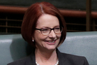 Julia Gillard is leaving Parliament after 15 years. Photo / AP