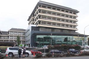 Christchurch Public Hospital. Photo / Geoff Sloan