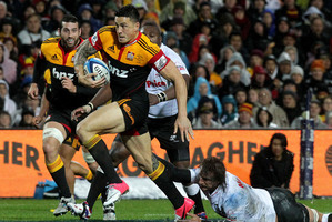 Sonny Bill Williams could be back in Chiefs colours as early as next year. Photo / Alan Gibson