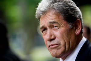 Winston Peters, an 'Orwellian' at heart. Photo / Dean Purcell