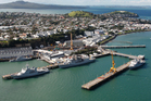 The Devonport Naval Base. Photo / Brett Phibbs