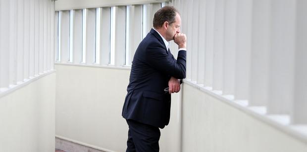 David Shearer's poll rating puts more pressure on his leadership. Photo / APN