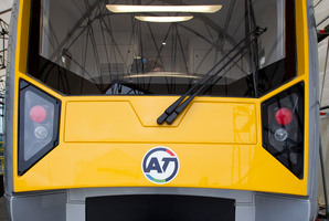 The link would be used by electric trains planned for Auckland. Photo / Sarah Ivey