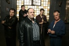 James Gandolfini and the cast of 'The Sopranos'.