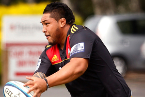 Ben Tameifuna makes a big difference to his side. Photo / Christine Cornege