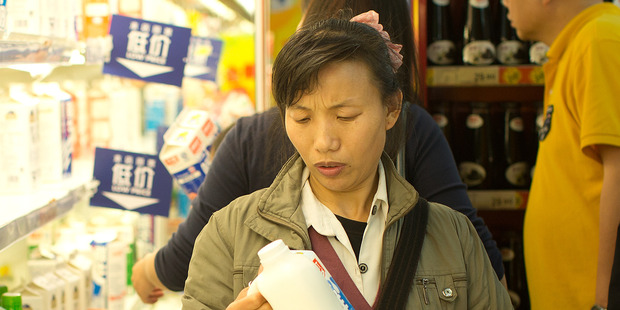 Consumers in China need to buy from trusted sources. Photo / APN