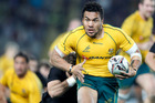 Australia's Digby Ioane has failed to appear in a Melbourne court. Photo / File