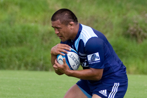 Kevin Mealamu will begin the game on the bench. Photo / APN