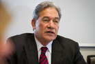 New Zealand First leader Winston Peters. Photo / Glenn Taylor