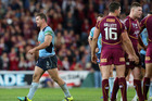 Greg Bird leaves the field during Origin II. Photo / Getty Images