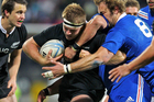 Sam Cane was also the third highest tackler for the All Blacks with seven, three assists and no misses. Photo /Getty Images