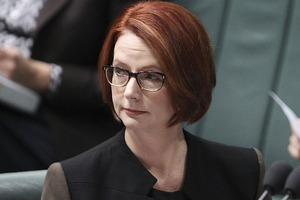 Australian PM Julia Gillard. Photo / Getty Images