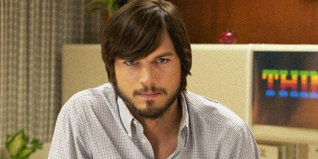 Ashton Kutcher as Steve Jobs.