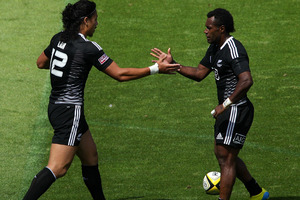 New Zealand has beaten Georgia 26-7 in pool play at the World Cup sevens. Photo / Getty Images.