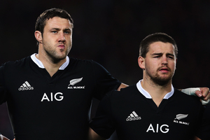 Jeremy Thrush and Dane Coles have re-signed with the NZRU. Photo / Getty Images