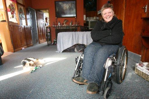 Sonia Boyd who volunteers with Special Olympics Wairarapa - for Volunteer Awareness Week.