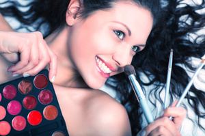 Could you bare to go without makeup? Photo / Thinkstock