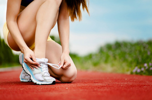 Adidas has a new running shoe that has polymer blades covering the sole. Photo / Thinkstock
