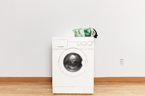 How amazing it would be to have a folding, portable washing machine. Photo / Thinkstock