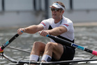 Mahe Drysdale missed out on a medal at Henley. Photo / Getty Images