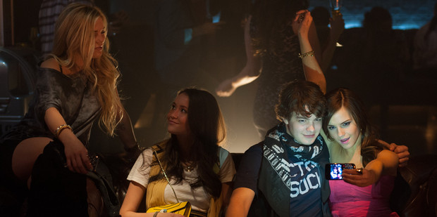 Loading A scene from The Bling Ring, which stars Emma Watson, right.