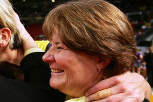 Julie Fitzgerald is the new coach of the Magic.  Photo / Getty Images