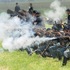 Men dressed as Union a soldiers fire guns during a Civil War re-enactment commemorating the 150th anniversary of the Battle of Gettysburg in Gettysburg, Pennsylvania. Photo / AP