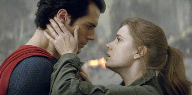 Loading Henry Cavill and Amy Adams in Man of Steel. Photo / AP