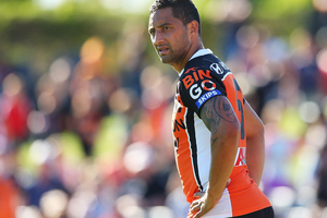 Blues coach Sir John Kirwan believes there is a real potential Benji Marshall will switch codes to rugby union. Photo / Getty Images.