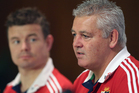 Lions coach Warren Gatland (right) and Brian O'Driscoll. Photo / Getty Images.
