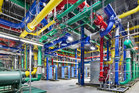 Google had nearly 39,000 staff at the end of the last quarter, a figure which is steadily growing. Shown here is the company's data centre.