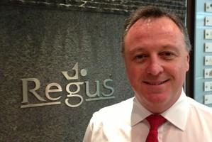 John Henderson of Regus Asia-Pacific.