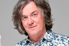 Top gear presenter James May suffered sea sickness during an offshore challenge in New Zealand.