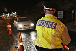 Mercer was caught by a police checkpoint, drunk at the wheel, but gave a false name. File photo / NZ Herald