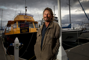 Mark Tucker, who runs eco-tourism venture Orca Wild Adventures, had been operating for just over a year when the Rena disaster happened. Photo / Alan Gibson