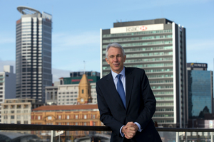 Tony Tyler is chief executive and director general of the International Air Transport Association. Photo / Brett Phibbs