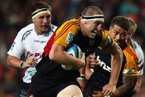 Brodie Retallick is looking forward to proving himself against the Crusaders tonight. Photo / Getty Images