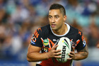 Wests Tigers say Benji Marshall's future is up to him but they hope he's planning a future with them. Photo / Getty Images