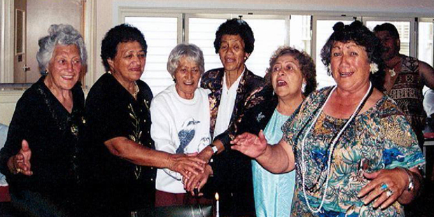 Kuia (from left) Hana Cotter, Apikara Rarere, Lovey Morgan, Irirangi (Lil) Robin, Raiha Pewhairangi and Kararaina Ratima-Harmer were all avid supporters of Radio Kahungunu.