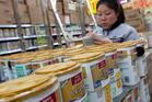 Food-safety sensitive China is ultra-cautious about baby formula in the wake of scandals.