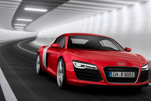 "The Audi R8 won the red dot design award as ""best of the best""."