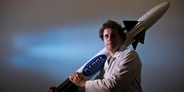 Kiwi Rocket Scientist Peter Beck. Photo / Greg Bowker