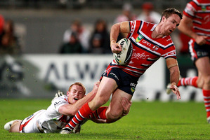 James Maloney scored a try, had a hand in several others and kicked impeccably. Photo / Getty Images