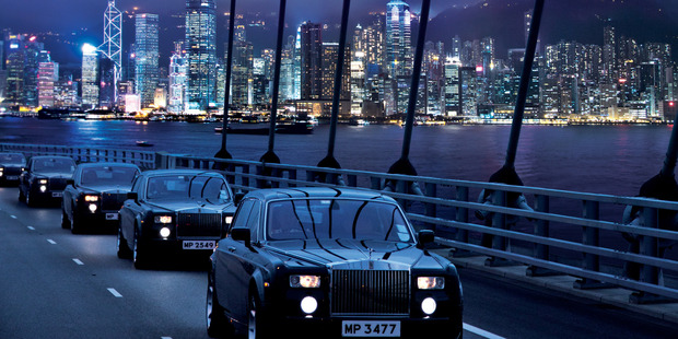 Indulge in the luxuries of Hong Kong.