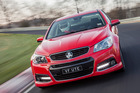 Holden's VF SS V Redline ute set a world record lap at Nurburgring.